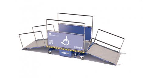Mobile platform for PRM persons